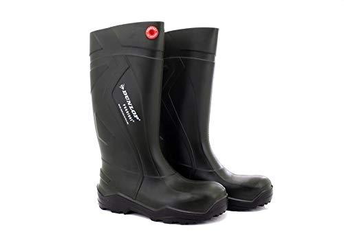 Dunlop ,  Unisex - Erwachsene Gummistiefel , Grün - grün - Größe: M9½ (Insulated Rain Womens)