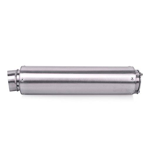 Frenshion Motorrad Auspuffrohr Universal Auspuff Schalldämpfer Rohr 51mm Exhaust silencers für Honda CBR CB400 CB600 CBR600 CBR1000 CBR250 CBR125 ER6N ER6R YZF600