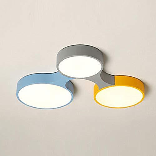 Deckenleuchten LED30W Bunte Einbauleuchten/Laterne LED für Schlafzimmer KinderzimmerSchöne Dimmbar Mit Fernbedienung @ Warm_White -