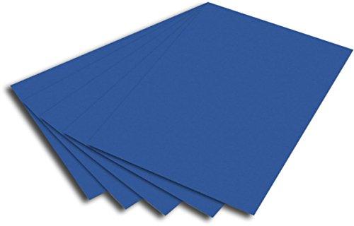0g/m², DIN A4 (50 Bogen, blau) (Blau Bögen)