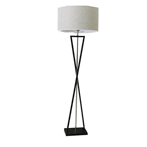 lampadaire XUERUI 9W-15W Décoration De La Maison Noir Interrupteur Au Pied Réglez La Télécommande D'éclairage (Couleur : Gris, taille : 9w)