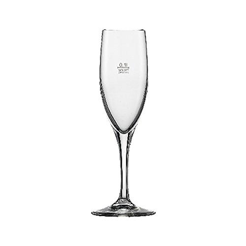Schott Zwiesel 132599 Sektglas, Glas, transparent, 6 Einheiten