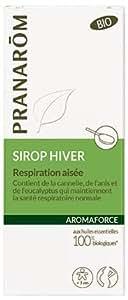 PRANAROM Aromaforce Sirop Bio- Respiration Aisée - 150 ml