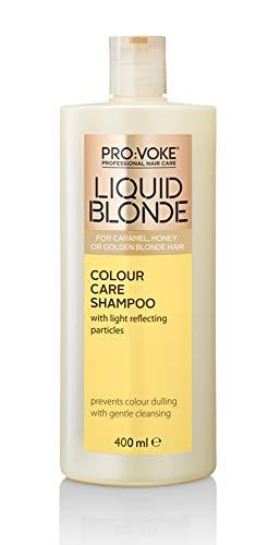 Pro : Voke liquide Blond Couleur Care Shampooing 400 ml