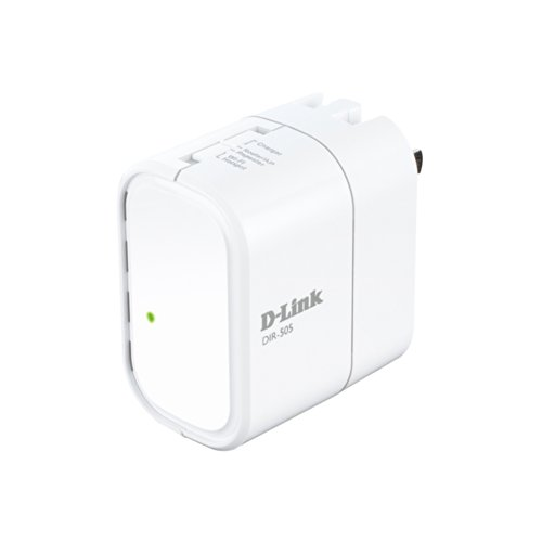 DLink DIR-505 All-In-One Mobile Companion Router (White)