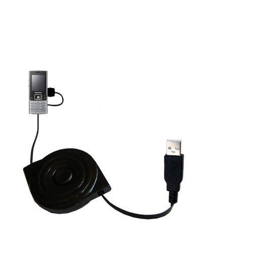 Das ausziehbare USB-Lade-Kabel für Samsung SGH-M200 Verwenden das Erweiterbare TipExchagng-System