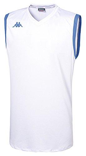 Kappa Cefalu Tank–T-Shirt, weiß, 12 años