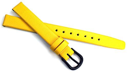 10mm Kalbleder Uhrenarmbänder für Damen in verschiedenen modischen Farben handgemacht in Deutschland Echt Leder