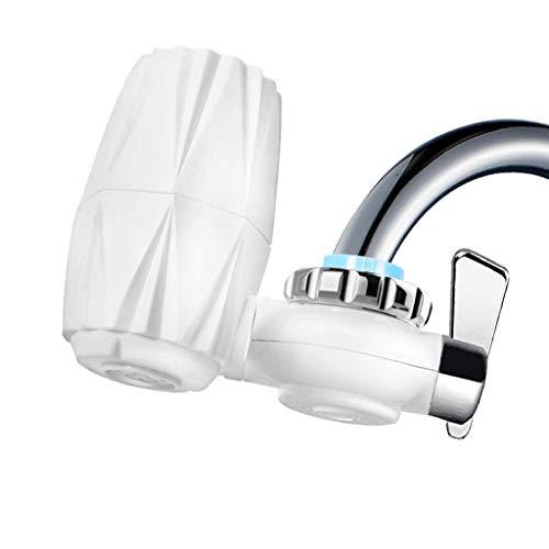 XHHWZB Hahn-Wasser-Filter, Leitungswasser-Reinigungsapparat-System-Küchen-Badezimmer, 5-stufiger Wasserfilter Passt Standardhähne
