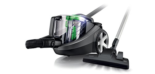 Philips PowerPro FC8769/01 Staubsauger EEK D (1250W, beutellos, EPA12 Filter) schwarz