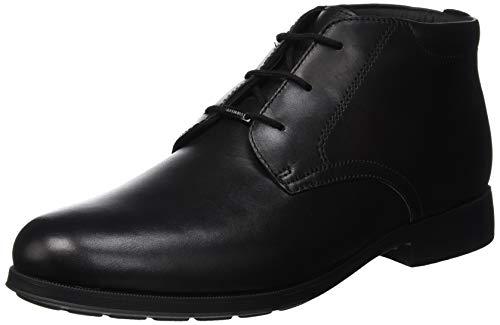 Geox Herren U HILSTONE Wide NP ABX F Desert Boots, Schwarz (Black C9999), 44 EU