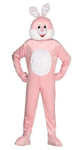 Guirca Costume da Coniglio Adulto, Colore Rosa E Bianco, L, 88184