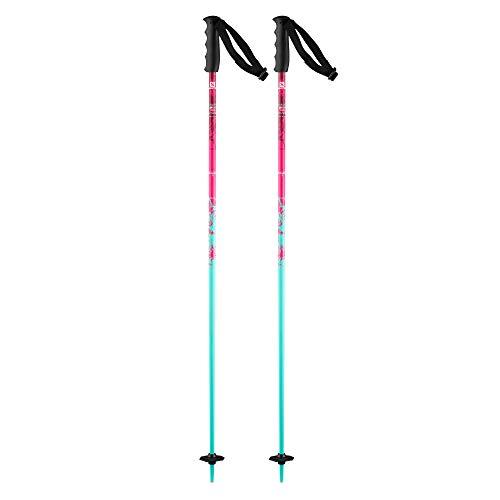 Salomon, Bâtons de Ski pour Enfant, 95 cm, Aluminium, BRIGADE JR, Rose, L39909000