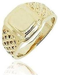 Simplemente elegante joyería y tienda de Regalos - 18ct Gold con sello de los hombres
