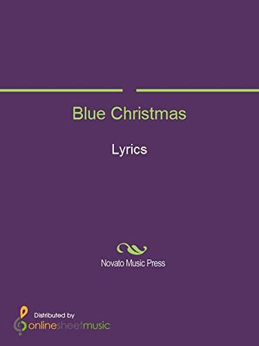 blue christmas by elvis presley - I Ll Have A Blue Christmas Lyrics