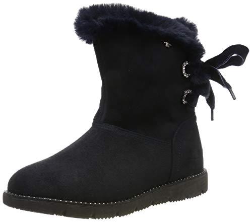 TOM TAILOR für Frauen Schuhe Stiefel mit Binde-Detail Navy, 39