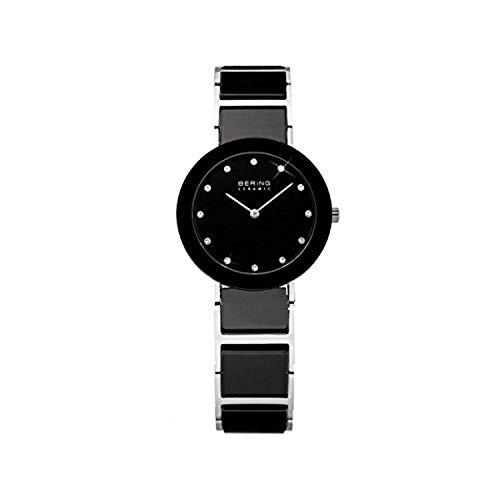 BERING Damen-Armbanduhr Analog Quarz Edelstahl 11422-742