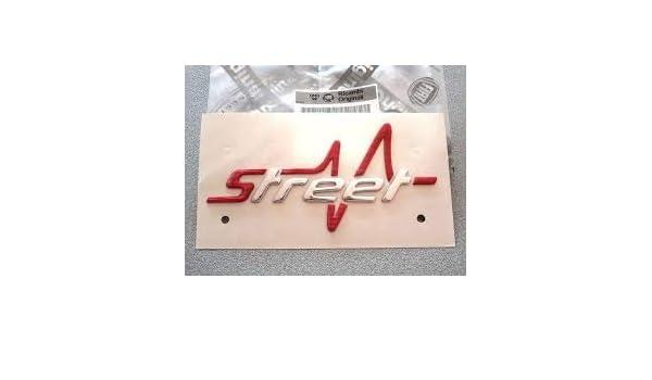 Scritta Stemma logo Street per Punto dal 2012 al 2017 e Bravo dal 2010 al 2014 FCA Originale 51936476