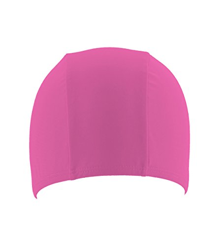 Eis Splash Lycra Badekappe, Confetto Fluo Pink (Lycra Eis)