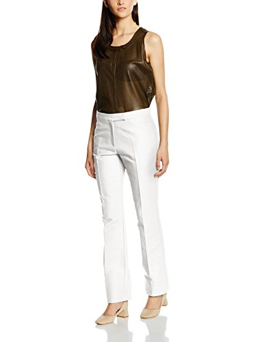 Belstaff Derby Tailored, Pantalone Donna Bianco