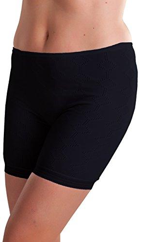 Octave - Damen Thermo-Unterhose - extra warm - Made in GB - schwarz - WMS [Hüfte: 86,3-91,4 cm] (Wms-kleidung)