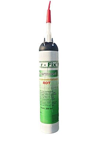 Preisvergleich Produktbild Ber-Fix Thermosil Motordichtmasse Flächendichtung Rot bis 260°C 200ml