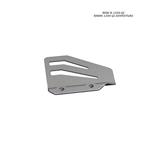 MyTech - Protezione pompa freno anodizzato Silver per - BMW R 1200 GS Adventure/BMW R 1200 GS raffreddato ad Aria fino al 2012/BMW F 650 SERTAO