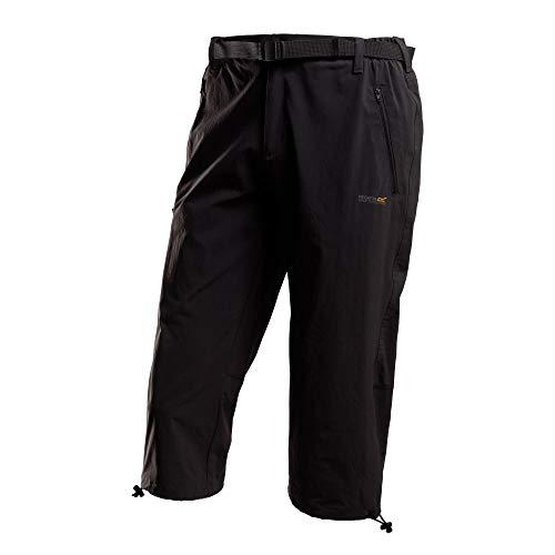 Regatta Xert Stretch II Pantacourt Homme, Noir, Size 40-inch