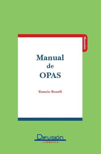 Manual de Opas por Ramon Bonell