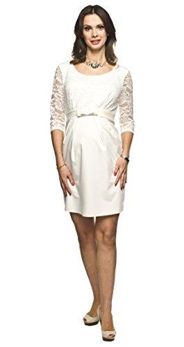 Elegantes und Bequemes Umstandskleid, Brautkleid, Hochzeitskleid für Schwangere Modell: Amber,...