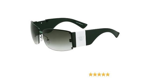 ec802a5ce5 Emporio Armani Ea 9542 S Sunglasses 12d (Oy) Green 67 13 Large   Amazon.co.uk  Clothing