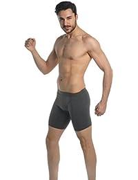 hommes superbe qualité d'hommes de coton doux longues jambes caleçon-toutes les tailles (1150)