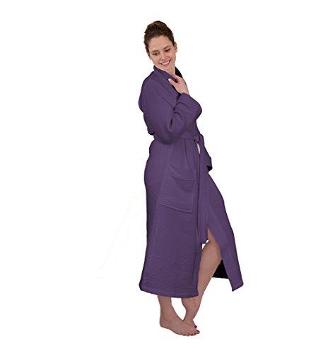 HNL -  Accappatoio  - Maniche lunghe - Donna Vintage Purple