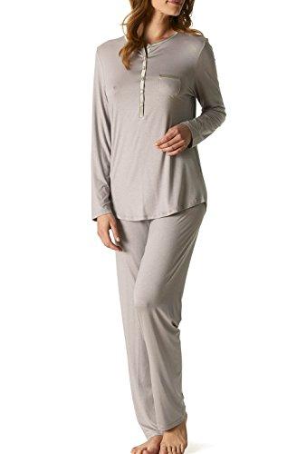 Mey 14787 pyjama long pour femme - new black diamond