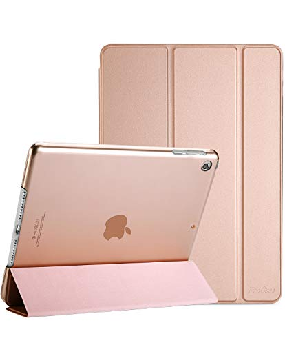 Hülle, iPad Mini 2 Hülle, iPad Mini 3 Hülle - Ultra Slim Leichter Standcase mit Translucent Frosted Back Smart Cover für 7.9