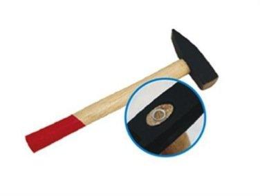 Schlosserhammer Schlosser Hammer mit Stiel aus Holz, 100 g