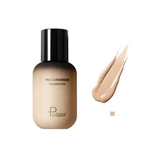 Cwemimifa Camouflage Body Abdeckcreme,FOCALLURE Face Foundation Makeup Base Flüssiger Concealer Feuchtigkeitscreme Ölkontrolle,4# -