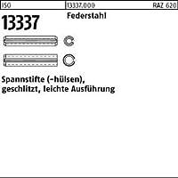 50 St/ück Abmessung: 10x70 DIN 1481 Federstahl Spannstifte Spannh/ülsen schwere Ausf/ührung
