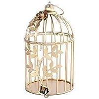 Golden Metal Bird Cage ,1 Pc ,7*4*4 inch