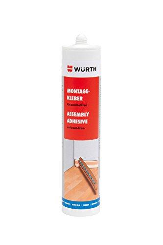 Würth Montagekleber lösungsmittelfrei 310ml Kartusche