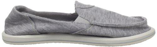 Sanuk Pick Pocket Fleece W, Mules femme Light Grey