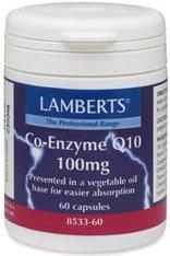 Lamberts - Q10 Coenzyme 100mg 60cap Lamb