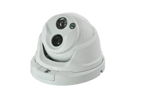 0 Sicherheits-licht ('bondwl® dbm1g8 1/7,6 cm hdis 800TVL Array vandalismusges Dome CCTV Kamera mit 1 Super-IR-LED-Licht Sicherheit Indoor/Outdoor Überwachungskamera Video Kamera)