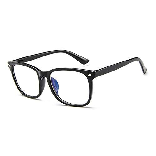 Noradtjcca Brillengestell Big Box Trending Rice Nail Sonnenbrillen Herren Damen Plain Mirror Square Frame Brillengestell