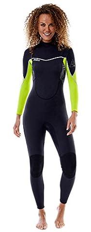 Jobe Sofia FullSuit 3/2mm LIME Wetsuit Damen Neoprenanzug Neopren Wetsuit Kiten Surf Anzug
