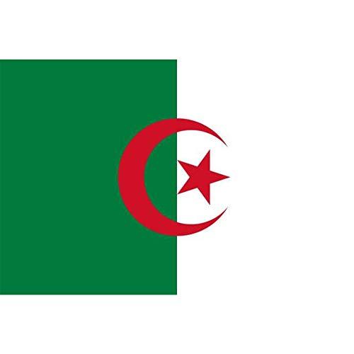 Bandera de poliéster de Argelia 90 x 150 cm
