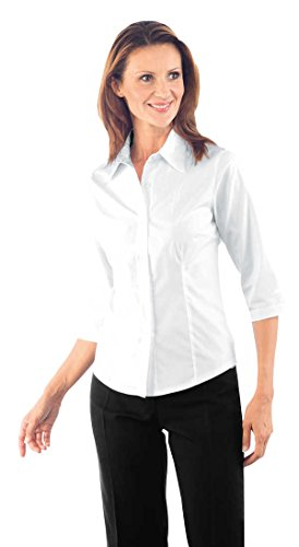 Chemise Femme Kyoto Manches 3/4 Blanche
