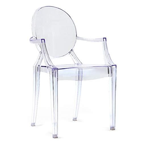 LYRJBD Barstuhl (Make-up Stühle hoch Barhocker Cafe Patio Barhocker Freizeit Sessel Creative Home Fashion Dining Chair) Multi-Color Optional (Color : White) -