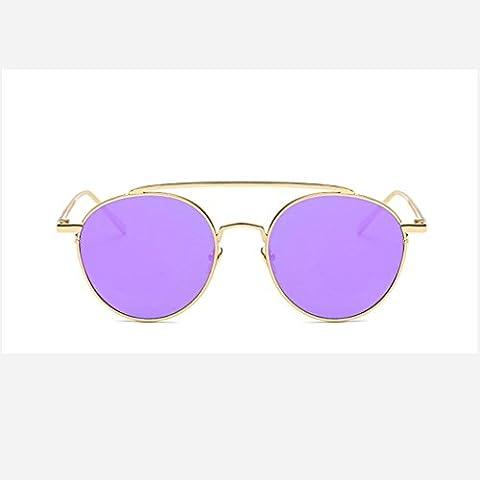 Bunte Metall Sonnenbrille Mode Persönlichkeit, Frau Sonnenbrille exquisite Strand fahren Glas-Sonnenbrille Bergtourismus , 7