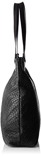 Chicca Borse Damen 80060 Shopper, 40x34x10 Cm Schwarz (nero)